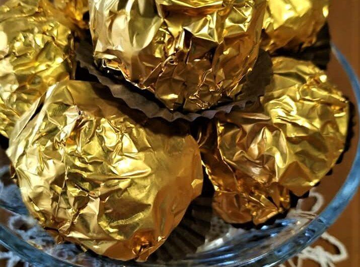 Σοκολατάκια τύπου Ferrero