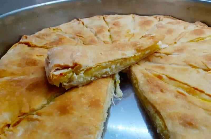 Πίτα με Καπνιστό Τυρί Μετσόβου