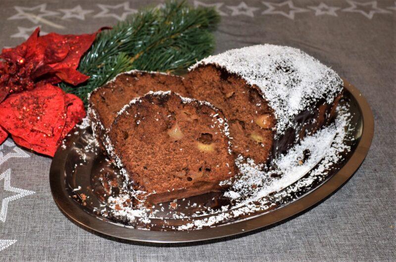 Σοκολατένιο Κέικ με Μήλο
